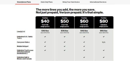 Verizon Prepaid $30 Basic Phone Plan No Longer Listed Online