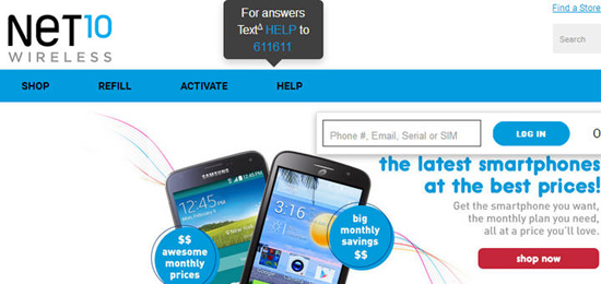 Free Android Smartphones from Net10 Wireless