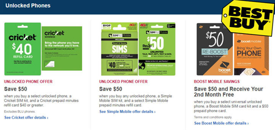 Great Deals For Unlocked Phones At Bestbuy For Cricket