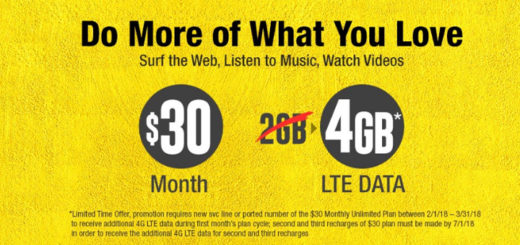 H2O Wireless Offers 4GB Data on $30 Plan for 3 Months, Chance to Win iPhone 7 with Autopay Enrolment