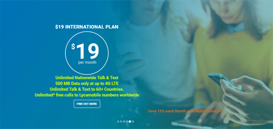 Lycamobile Increases Data on $19 Plan to 500 MB, Adds
