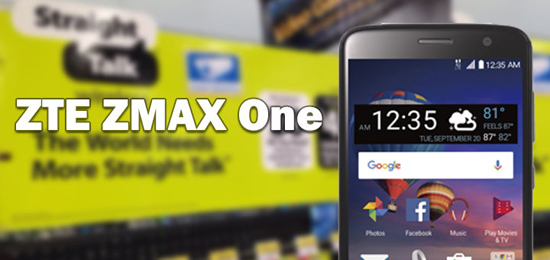 Straight Talk ZTE ZMAX One Available at Walmart for $89 00 - Prepaid