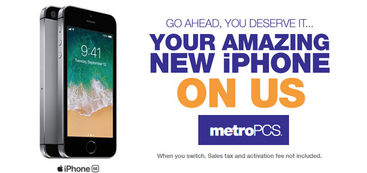 Metropcs Promotion Offers Free Iphone Se For Switchers Prepaid Mobile