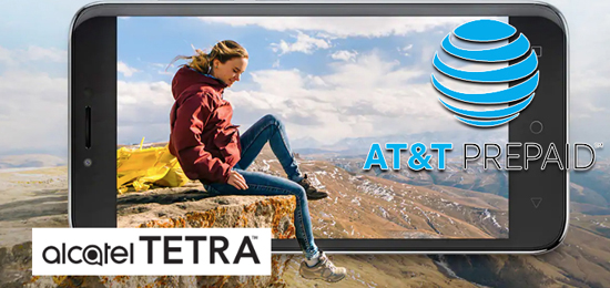 AT&T Prepaid Alcatel TETRA Available for $39 99 - Prepaid